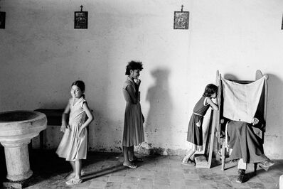 Chris Steele Perkins, 'Village Confessional, El Salvador', 1981