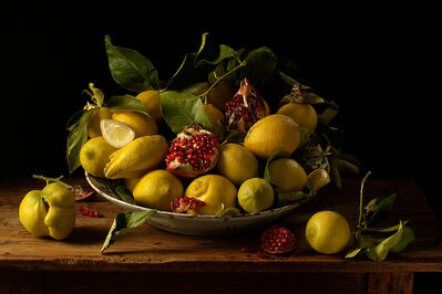 Paulette Tavormina, 'Lemons and Pomegranates, after J.V.H.', 2010