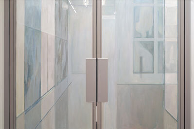Sarah McKenzie, 'Gate (White Cube, Bermondsey with Mark Bradford, 2013)', 2014