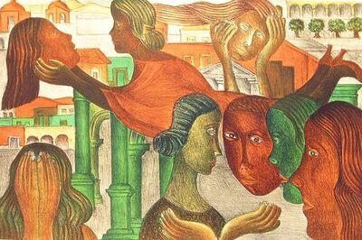 Rodolfo Morales, 'Mi corazon se asoma a la vida', 1998