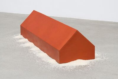 Wolfgang Laib, 'Rice House', 2002-3