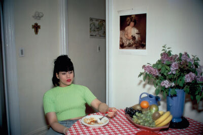 Nan Goldin, 'Gina at Bruce's dinner party, NYC', 1991