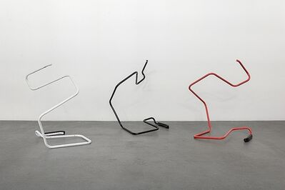 Wade Guyton, 'Untitled Action Sculptures', 2019