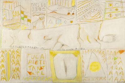 Gastone Novelli, 'Gomera', 1962