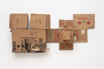 Robert Rauschenberg, 'Rosalie/Red Cheek/Temporary Letter/Stock (Cardboard)', 1971