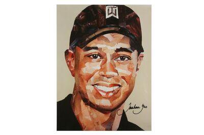 Jonathan Yeo, 'Tiger Woods'