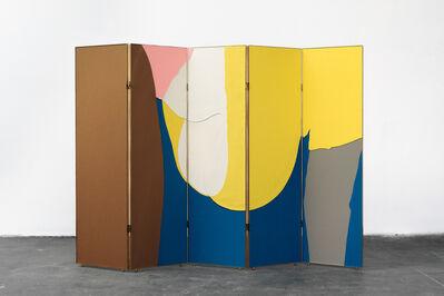 Thomas Grünfeld, 'doggy (folding screen)', 2014