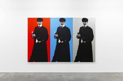 Deborah Kass, 'Single Red Yentl (My Elvis), Single Blue Yentl (My Elvis), and Single Silver Yentl (My Elvis)', 1992 -2010