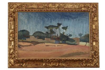 Ivan Aguéli, 'Egyptian Landscape', ca. 1895