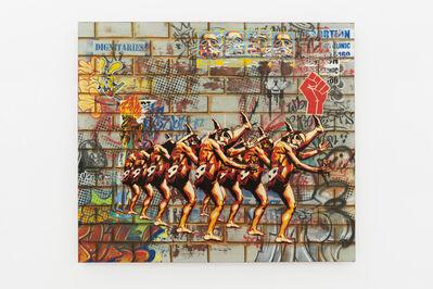 Khaya Witbooi, 'The Long Walk from Freedom', 2015