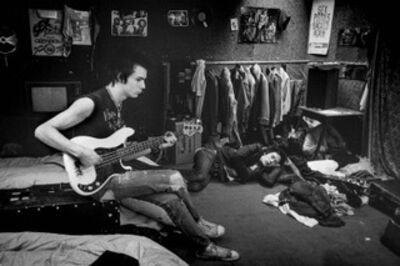 Ulla Lemberg, 'Sex Pistols, Sid Vicious and Johnny Rotten', 1977