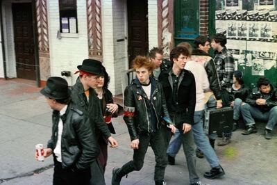 Robin Graubard, 'ska punks - CBGB's', ca. 1979