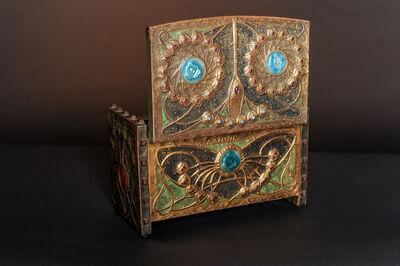 Alfred Daguet, 'Butterfly Box', ca. 1900