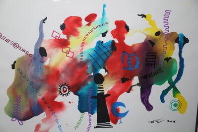 Frank Frazier, 'Color and Symbols', 2018