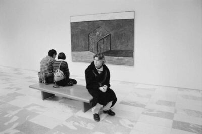 Graham Nash, 'My Son Jackson at Moma-1997', 1997