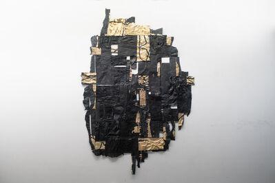 Clay Apenouvon, 'Profil Noir III', 2019