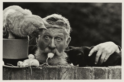 Don McCullin, 'Snowy, the Mouseman Cambridge', 1978