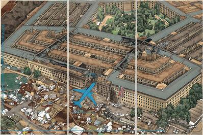Yang Jiechang 杨诘苍, 'Crying Landscape: Pentagon after 9/11 会叫的风景', 2002