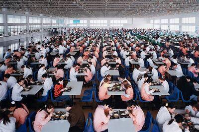Edward Burtynsky, 'Manifacturing #11, Youngor Textiles, Ningbo, Zhejiang Province, China', 2005