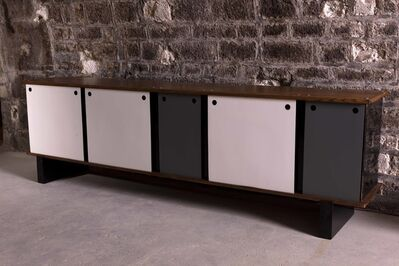 Charlotte Perriand, 'Modèle Bloc dit Cansado, Sideboard with five doors', 1959-1963