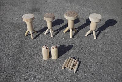 Max Lamb, 'Tokonoma Stool prototypes'