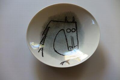 """Wifredo Lam, 'Ceramica di Albisola - 9"""" plate II', 1970"""