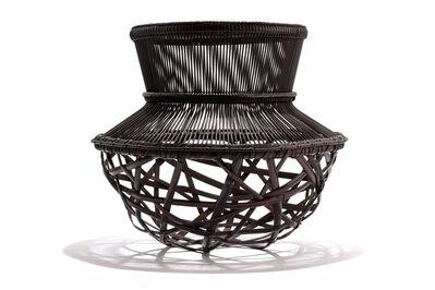 Iizuka Shōkansai, 'Flower Basket, Spring Shine'