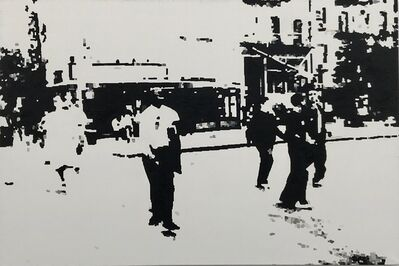 Miha Strukelj, 'Bowery street', 2007