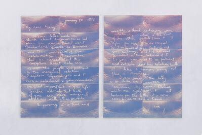 Mary Kelly, 'Beirut', 2017