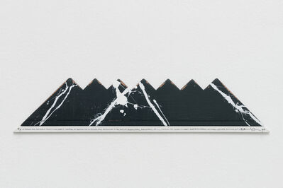 Hamish Fulton, 'Seven Small Mountains. Wyoming 2017', 2017