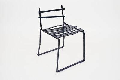 Jean-Pascal Flavien, ''Broken designs for undead furniture' Chair', 2019