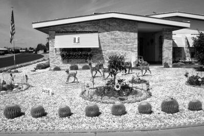 David Hurn, 'Arizona. Desert front garden', 1992