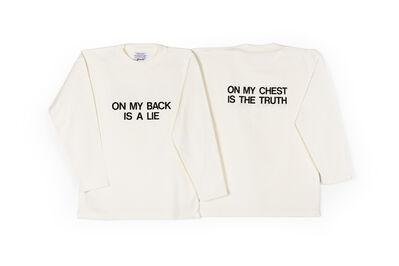 George Brecht, 'The Paradox T-Shirt', 1989