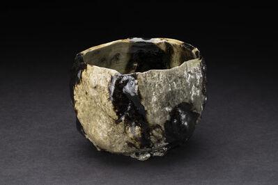 Osamu Inayoshi, 'Hikidashi Black Kurinuki Tea Bowl', 2019