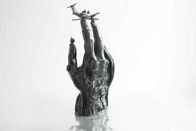 PRANNA, 'Sabazius Hand (black)', 2019
