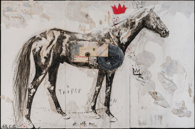Ashley Collins, 'Of Records, Of Crowns, Of Love', Contemporary