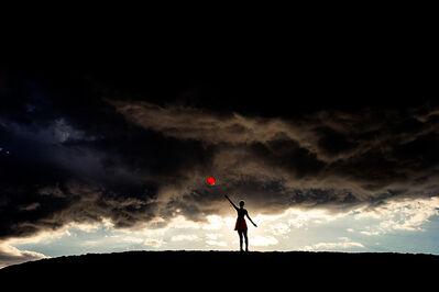 Tyler Shields, 'Red Balloon', ca. 2015