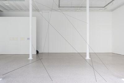 Fred Sandback, 'Untitled ( Sculptural Study, Mikado)', 1999