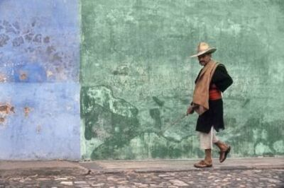 Fred Herzog, 'Man Walking, Antigua', 1964
