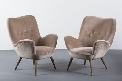 Franco Buzzi, 'Pair of armchairs', ca. 1939