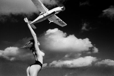 Marco Glaviano, 'Ashley with Plane ', 1984