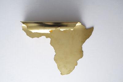 Marina Camargo, 'Continentes dobrados (África)', 2019