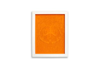 Mike Perry, 'Flowering Peace (Dark Orange)', 2017