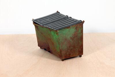 Drew Leshko, 'Rusted Green Dumpster', 2019
