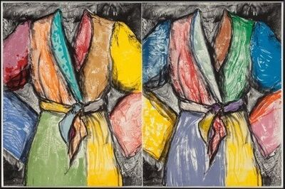 Jim Dine, 'Double Dose of Color', 2009