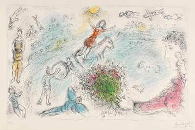 Marc Chagall, 'L'Âme du cirque (Spirit of the Circus)', 1980