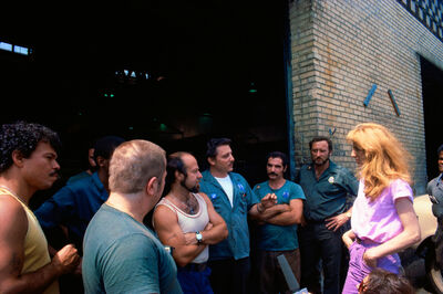 Mierle Laderman Ukeles, 'Touch Sanitation Performance, August 8, 1979, Sweep 2, Bronx 21', 1979