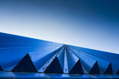 Donn Delson, 'Blue Triangles'