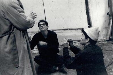 John Cohen, 'Allen Ginsberg, Gregory Corso with Flute', 1959