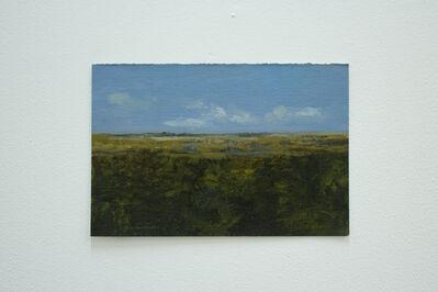 Victor Julio González, 'paisaje con nubes II', 2016
